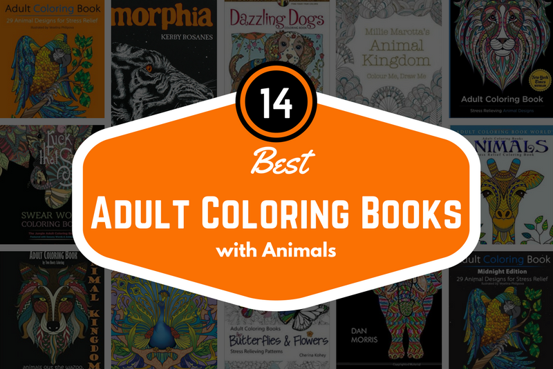14 Best Adult Coloring Books with Animals - Unibul Press