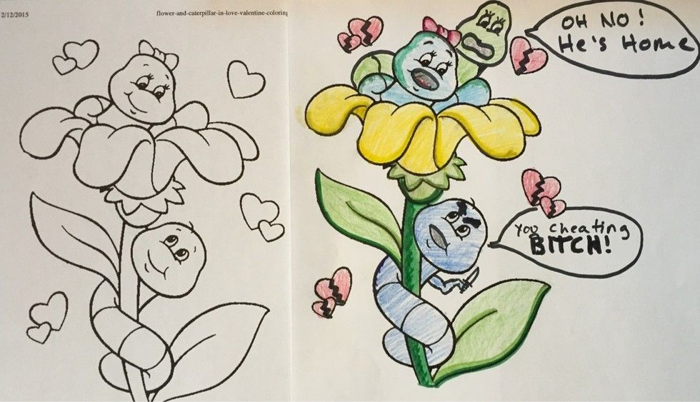 Source Architecturendesign Corrupted Coloring Books That Will Ruin Your Childhood